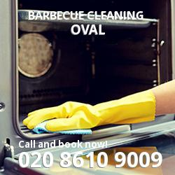 Oval Barbecue Cleaning SW9