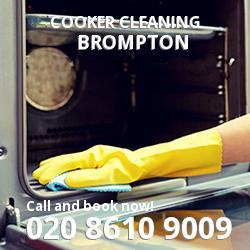 Brompton cooker cleaning SW3