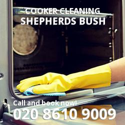 Shepherds Bush cooker cleaning W12