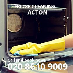 Acton fridge cleaning W4