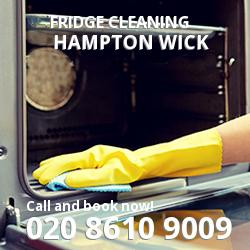 Hampton Wick fridge cleaning KT1