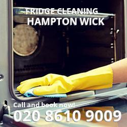 Hampton Wick fridge cleaning KT1
