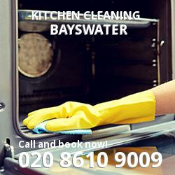 Bayswater commercial kitchen cleaning W2