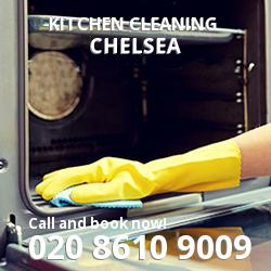 Chelsea commercial kitchen cleaning SW3