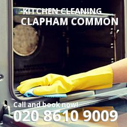 Clapham Common commercial kitchen cleaning SW4