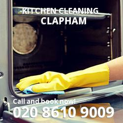Clapham commercial kitchen cleaning SW4