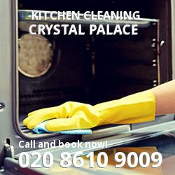 Crystal Palace commercial kitchen cleaning SE19