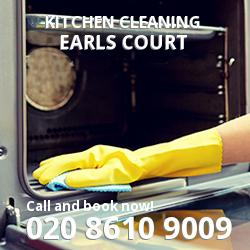 Earls Court commercial kitchen cleaning SW5