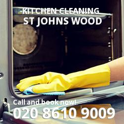 St John's Wood commercial kitchen cleaning NW8