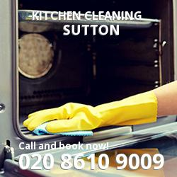 Sutton commercial kitchen cleaning SM1