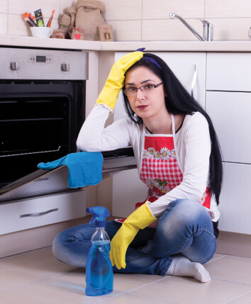 Commercial Kitchen Appliances Cleaning